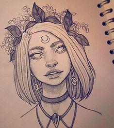 short blonde hair, black and white drawing, flower crown, how to draw female body, black necklaces Pencil Art Drawings, Art Drawings Sketches, Cool Drawings, Flower Crown Drawing, Drawing Female Body, Art Drawings Beautiful, Black And White Drawing, Art Model, Art Sketchbook