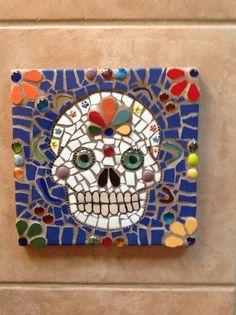 dia de los muertos mosaic - Google Search