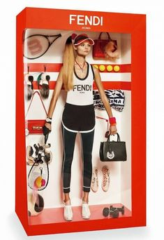 Fendi Barbie doll // Photo by Giampaolo Sgura for Vogue Paris