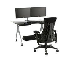 Envelop Desk with Dual Monitor Arm. Tecnología aplicada para tu comodidad, lo mejor a tu servicio en el mundo entero! #MoberTeInspira