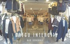 Daegu Intercity Bus Schedule – a two year break