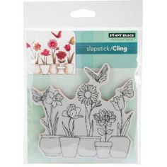 Shop for Penny Black Cling Stamps Get free delivery On EVERYTHING* Overstock - Your Online Scrapbooking Shop! Penny Black Stamps, Flower Pots, Potted Flowers, Scrapbooking, Tampons, High Quality Images, Sewing Crafts, Arts And Crafts, This Or That Questions