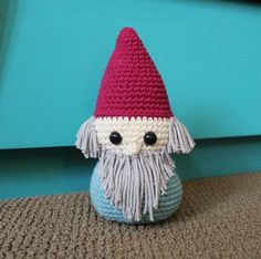 (4) Name: 'Crocheting : Norman the Gnome Crochet Pattern