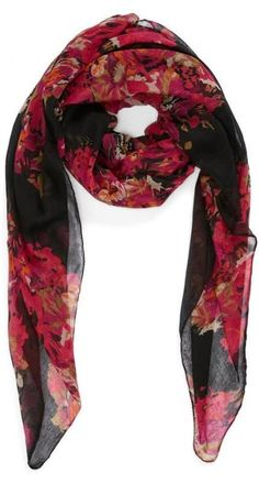 Cute BP. Floral Scarf.