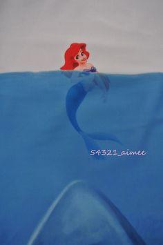 Shark vs Mermaid Swimsuit Swimming Costume Bodysuit Milk Black Little Jaws Ariel   eBay