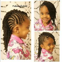Young girls hair #twists #braids