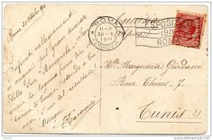 1911 CARTOLINA CON ANNULLO A BANDIERA ESPOSIZIONE 1911 ROMA ESPOSIZIONE REGIONALE ETNOGRAFICA P.ZZA D´ARMI