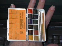W & N Bijou watercolor box... - WetCanvas