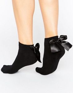 ASOS Oversized Bow Back Sneaker Sock