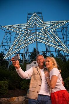 The Roanoke Star - The world's largest, man-made, illuminated star. Where my husband ask me to marry him!