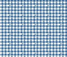 Custom fabric, wallpaper and gift wrap created at Spoonflower