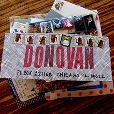 {mail art} Mail Art Envelopes, Addressing Envelopes, Paper Art, Paper Crafts, Fun Mail, Decorated Envelopes, Envelope Art, Invitation, Pocket Letters