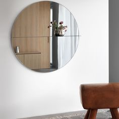 Otto is a mirror available in different glass finishes with a frame and shelf in lacquered metal. Both a useful item as well a display for your favourite belongings. The large mirror is available in two finishes, deep blue and bronze. Tinted Mirror, Glass Shelves, Interior Decorating, New Homes, Bronze, Mirror Glass, Mirrors, Furniture, Dear Future