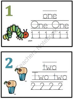 Preschool Printables: Hungry Caterpillar to a Butterfly Printable