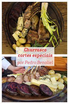 Este Churrasco de Cortes Especiais feito pelo Chef Pedro Benoliel leva diversos ingredientes que resultam em um incrível sabor, experimente!