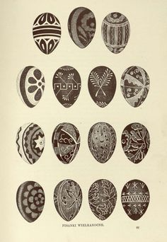 Here you'll find informations about Polish pisanki (decorated Easter eggs): Short history 8 types of Polish Easter eggs Patterns Gallery of Polish pisanki Egg Crafts, Bunny Crafts, Easter Crafts For Kids, Easter Ideas, Polish Easter Traditions, Easter Egg Pattern, Polish Folk Art, Ukrainian Easter Eggs, About Easter