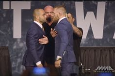 Eddie Alvarez says that he's never felt so unthreatened in his life than when he was on stage with Conor McGregor. Fight fans think he'll make the same mistake at #ufc205 that he did when he lost his lw belt to Michael Chandler at Bellator 58?