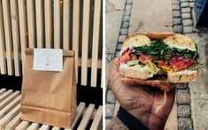 This month, try a pop-up gallery space and bagel sandwiches.