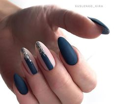 Nagellack-Kunst Treatments that offer hope to hair loss sufferers Many people experiencing premature Shellac Nails, Matte Nails, Blue Nails, Manicures, Fabulous Nails, Perfect Nails, Gorgeous Nails, Get Nails, Hair And Nails
