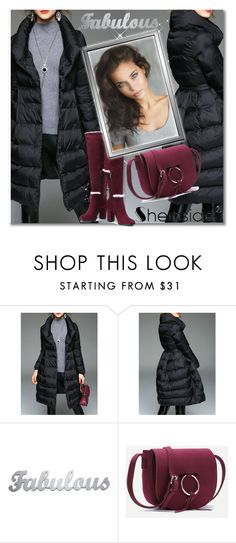 """""""Winter style,SheIn 2/IV"""" by sajra-de ❤ liked on Polyvore"""