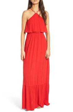 Main Image - Dee Elly Popover Maxi Dress