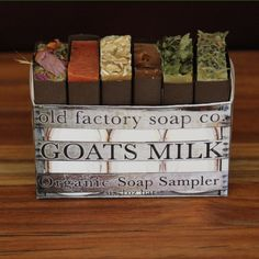 Organic Goats Milk Soap Sampler