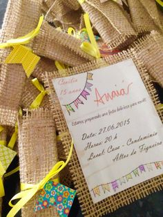 Convite festa junina: