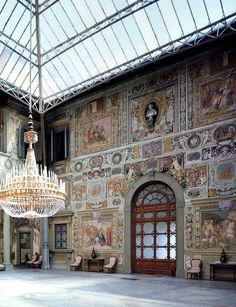 Villa Medici, La Petraia, Florence Italy