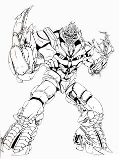 Transformers Coloring Pages Movies And Tv Coloring Pages