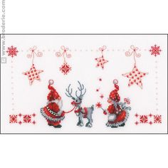 Les lutins de Noël - La Maison du Canevas et de la Broderie