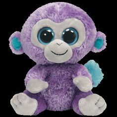 Ty Beanie Boo - Blueberry The Monkey (Beanie and Clip On) 1fff5478dbf