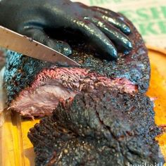 Smoked Brisket -  you don't even know....if you ever had brisket prepared the right way, then your mouth should be watering right now!