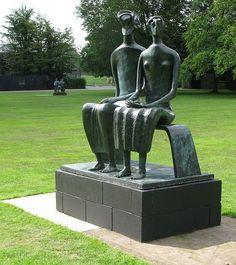Henry Moore sculptures king n Queen Abstract Sculpture, Bronze Sculpture, Sculpture Art, Garden Sculptures, Metal Sculptures, Contemporary Sculpture, Contemporary Art, Maya Art, Alexander Calder