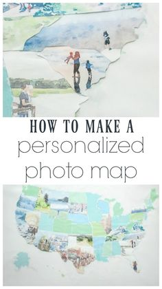 way to go on this one, Carrie! I love it. Beautiful watercolor photo map. Make a personalized photo map from your own vacation photos.