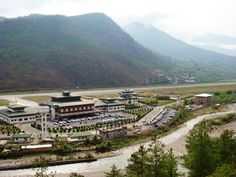 Paro Airport, Bhutan - The country's only international airport.