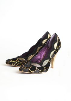 Birdcage Textured Heels By Poetic Licence $67.50