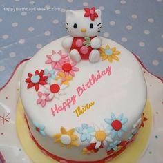 write name on Hello Kitty Birthday Cake