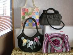 Crochetcetera and such: Bags