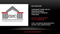 http://www.d2c-building.com/accueil-d2c Villas and apartments Swimming pools construction Restaurants Bars and entertainment places Shops and showrooms Offices and stalls Renovation works  You have a concrete plan in your head ? You have a budget, accurate and realistic ? You have a lot, a room ready to host your project? If you're ready to get started…we can build it for you! We take care of everything All administrative procedures The plans of your project Simulation in 3D for better…