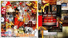 kit au feu les pompiers by kittyscrap