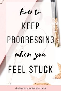 Do you want to keep progressing, but are feeling stuck instead? Then this article is for you! Discover how you can get unstuck in work and life now. Feeling Stuck, How Are You Feeling, How To Stop Procrastinating, Optimism, Simple Living, Self Improvement, Productivity, Knowing You, Improve Yourself