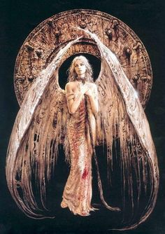 The Black Angel, by #Luis #Royo