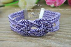 Sailor Knot Bracelet Infinity Knot Bracelet by HandmadeTribe, $2.99 Fashion handmade cuff bracelet
