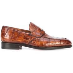 Bontoni Principe loafers (4,035,900 KRW) ❤ liked on Polyvore featuring men's fashion, men's shoes, men's loafers, brown, mens brown shoes, mens brown loafer shoes, mens loafer shoes, mens brown leather shoes and mens leather loafer shoes