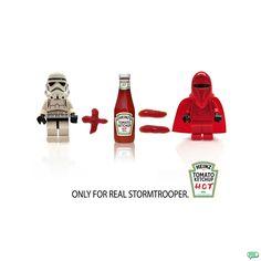 Ketchup (Heinz Ad) Stormtrooper