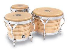 Latin Percussion LP Generation III Triple Wood Bongos LP202-AW