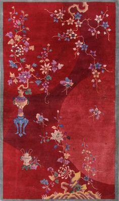 """#236 Chinese Art Deco  4'1"""" x 6'10"""""""