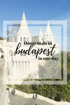 things to do in Budapest - everything we say in Budapest in one day. From the Buda Castle district to the streets of Pest. Voyage Europe, Europe Travel Guide, Backpacking Europe, Europe Destinations, Asia Travel, Travel Guides, Travelling Europe, Budapest Travel, Visit Budapest