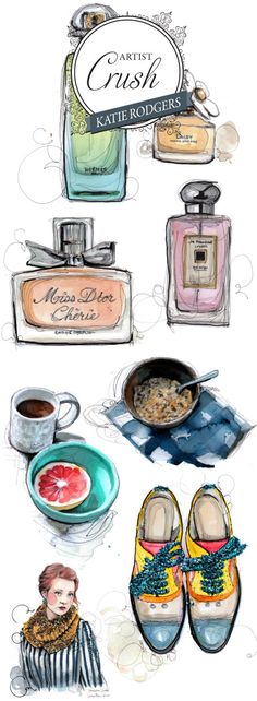 In love with these Katie Rodgers illustrations found on Wiley Valentine's blog