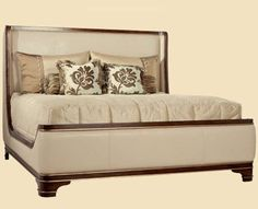 Tango Sleigh Bed.  Please contact Avondale Design Studio for more information on any of the products we highlight on Pinterest.